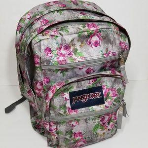 Jansport | grey rose big student backpack